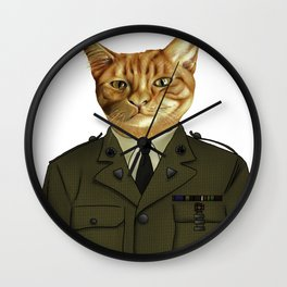 Paws of Fortune Wall Clock