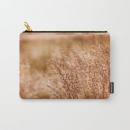 Clump of grass inflorescence sepia toned Carry-All Pouch