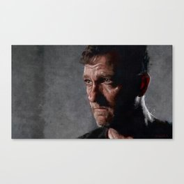 Richard From The Kingdom - Bury Me Here - The Walking Dead Canvas Print
