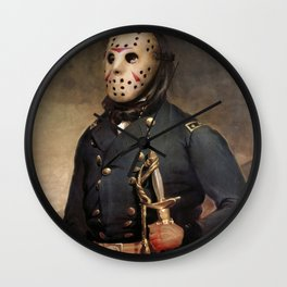 Jason Voorhees Friday The 13th Wall Clock