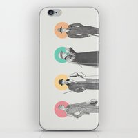classy iPhone & iPod Skins featuring Classy by Zeke Tucker
