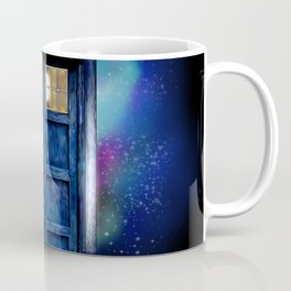 Mrs River and the tardis Coffee Mug