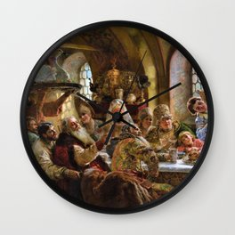 A Boyar Wedding Feast - Konstantin Makovsky Wall Clock