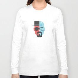 Walter White + Heisenberg Long Sleeve T-shirt