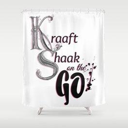 Kraaft Shaak on the GO! Shower Curtain