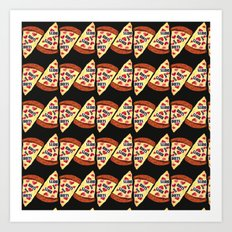 Pizza Punk Art Print