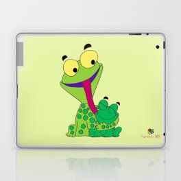 Froggy's Father's Day Laptop & iPad Skin