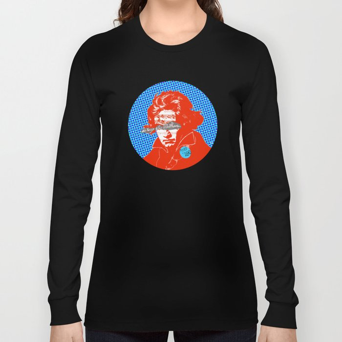 Ludwig van Beethoven 12 Long Sleeve T-shirt