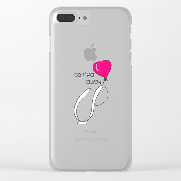 Carried away Clear iPhone Case