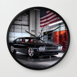 Chevelle Wall Clock