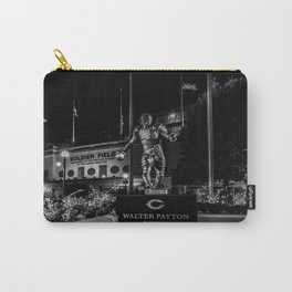 Walter Payton Statute at night Carry-All Pouch