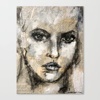 strong Canvas Prints featuring strong by woman