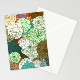 Tender Roses 2 Stationery Cards