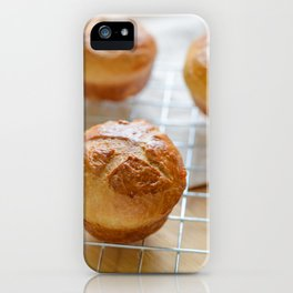 Baked sweet buns iPhone Case
