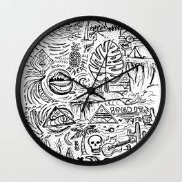 Sketch Book Wall Clock