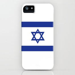 israel country flag david star iPhone Case