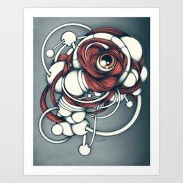 Bio_Eye2 Art Print