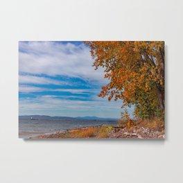 Lake Champlain Colors Metal Print