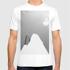 Vacant Architecture White Mens Fitted Tee MEDIUM