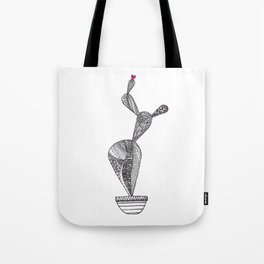 Cactus pattern love Tote Bag