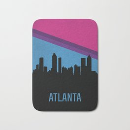 Atlanta Skyline Bath Mat