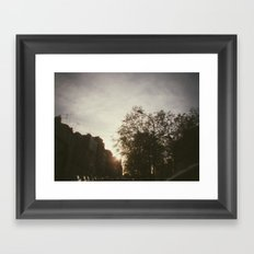 Paris, june 2013 Framed Art Print