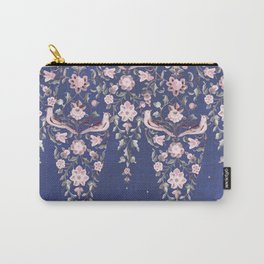 Mandala Persian Tile (Blue) Carry-All Pouch