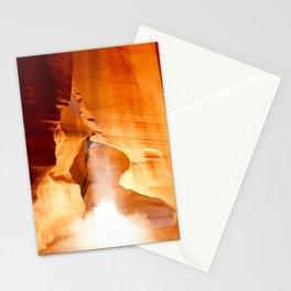Antelope Canyon Light Beam Stationery Cards