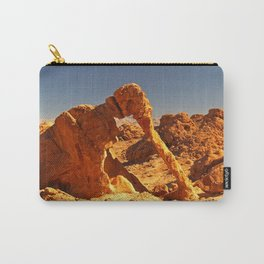 Elephant Rock in the Valley of Fire. Carry-All Pouch