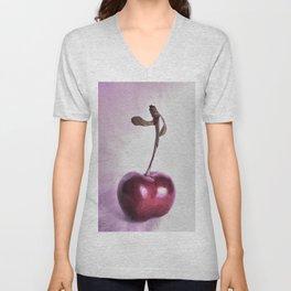 Cherry Unisex V-Neck