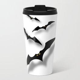 Bats Sticker Travel Mug