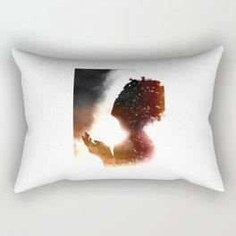 Shadow light Rectangular Pillow