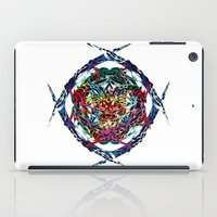 shield iPad Cases featuring SHIELD by Paix Vivante