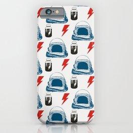 Bowie MajorTom stuff seamless pattern  iPhone Case