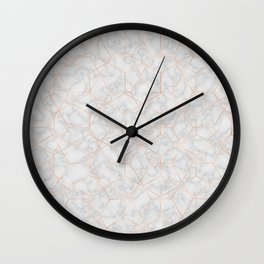 Marble With Party Wall Clock
