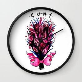 Cunt Wall Clock