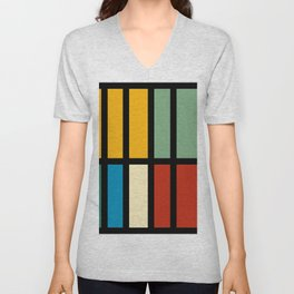 Abstract composition 23 Unisex V-Neck