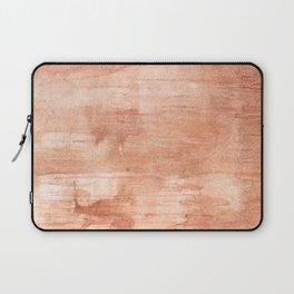 Burly wood hand-drawn aquarelle Laptop Sleeve