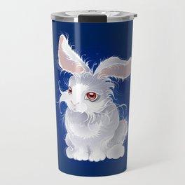 Magic white rabbit Travel Mug