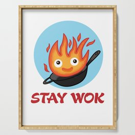 Stay Wok Serving Tray