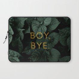 Boy, Bye - Vertical Laptop Sleeve