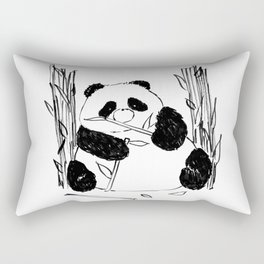 Fat Panda Rectangular Pillow