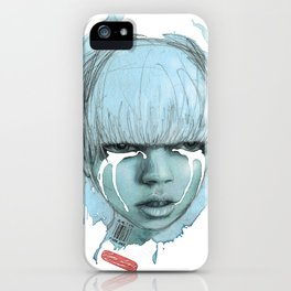 je ne t'aime iPhone Case