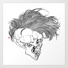 Death is New Punk Art Print