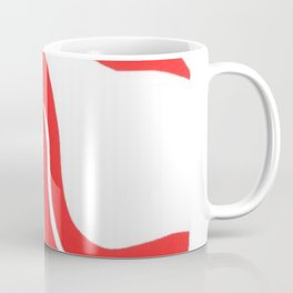 Henri Matisse, Rouge Freedom, Nude (Red Freedom, Nude) lithograph modernism portrait painting Coffee Mug