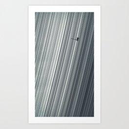 Cassini and Saturn Art Print