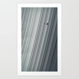 Cassini and Saturn Art Print