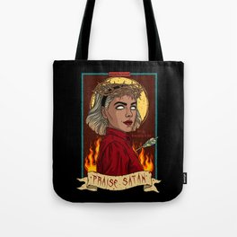 Sabrina, Herald of Hell Tote Bag