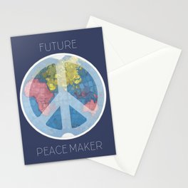 Future Peace Maker Stationery Cards