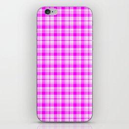 Tartan Pretty Pink Plaid iPhone Skin